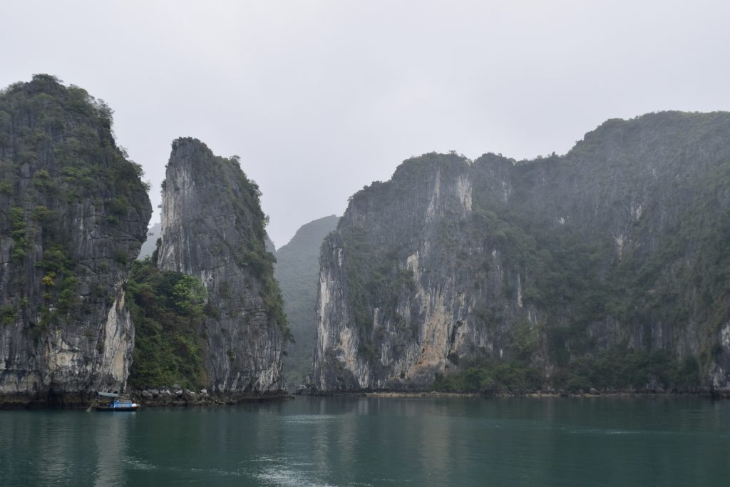 Emerald Waters of Halong Bay