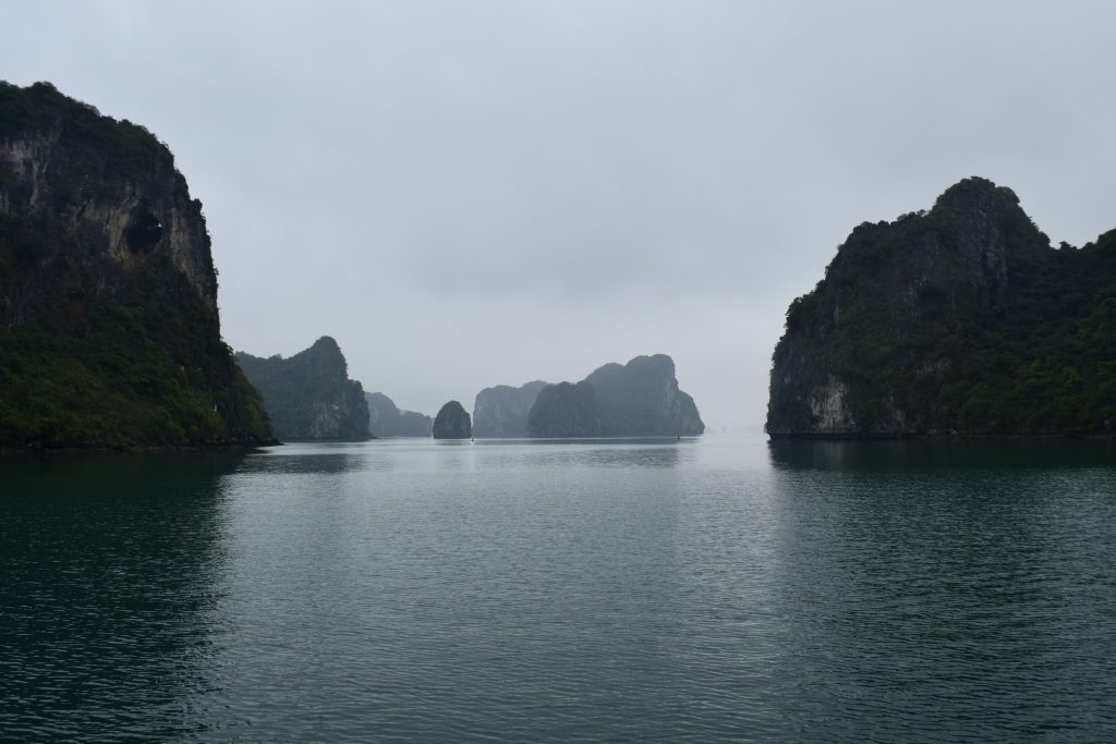 Misty majestic in Halong Bay