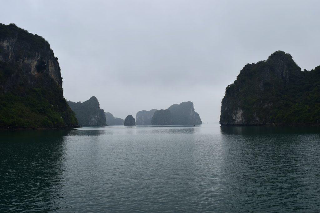 Misty majestic in Halong Bay