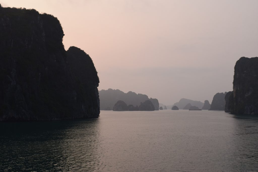 Golden Hour in Halong Bay