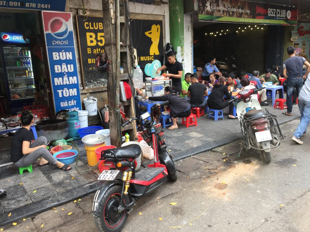 Lunch time in Hanoi