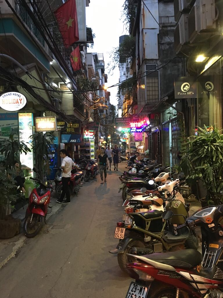 Nighttime in Hanoi