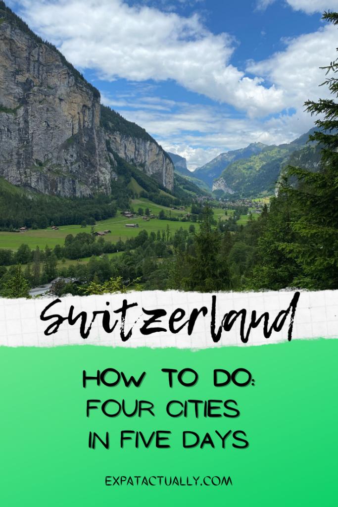 Pinterest Pin Switzerland