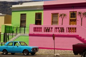 Colorful streets of Bo Kaap