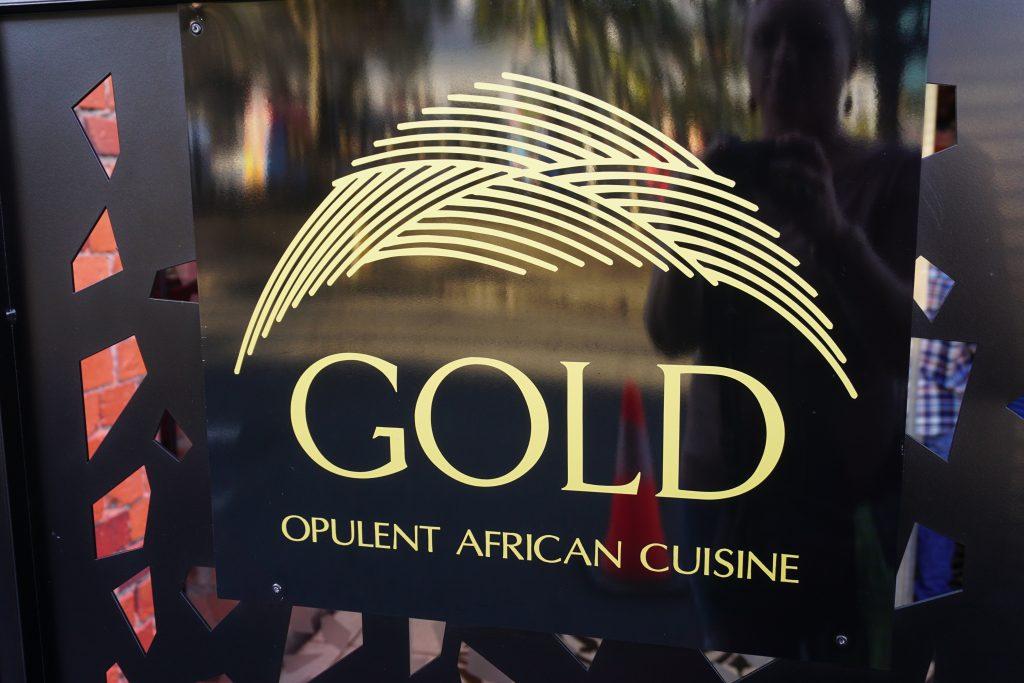 Gold Opulent African Cuisine